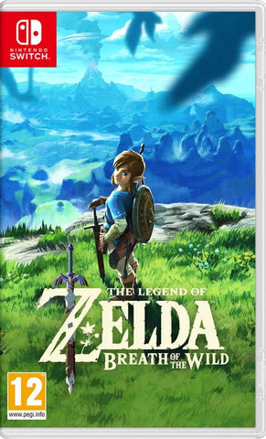 Jogo Switch Legend Of Zelda: Breath Of The Wild
