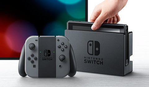 CONSOLA NINTENDO SWITCH CINZA