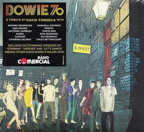 Sony Music BOWIE 70 - A TRIBUTE BY DAVID FONSECA