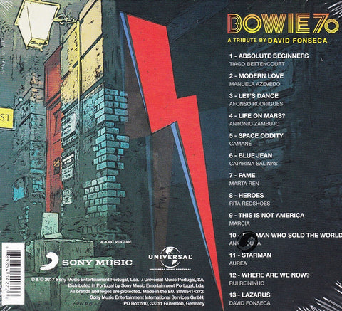 BOWIE 70 - A TRIBUTE BY DAVID FONSECA