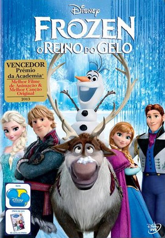 FROZEN O REINO DO GELO DVD