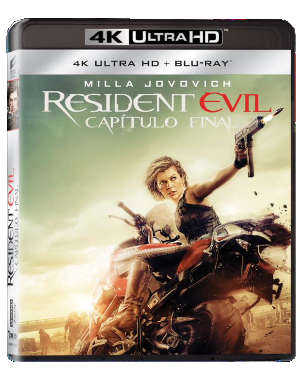 RESIDENT EVIL: CAPITULO FINAL BD4K+BD Image