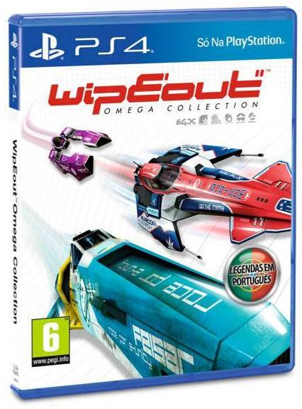 PS4 WipEout Omega Collection Image