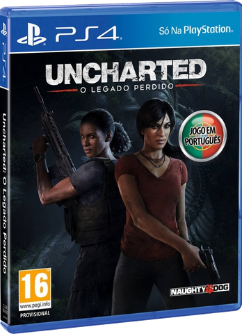 PS4 Uncharted: O Legado Perdido