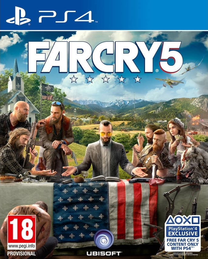 PS4 FAR CRY 5 Image