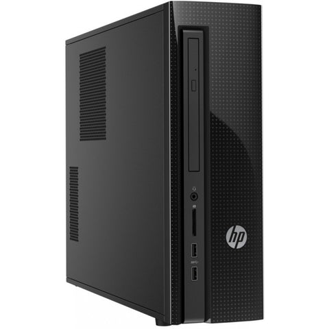 HP 260-a112np Slimline PC Desktop Celeron J3060 4GB RAM 500GB Disco