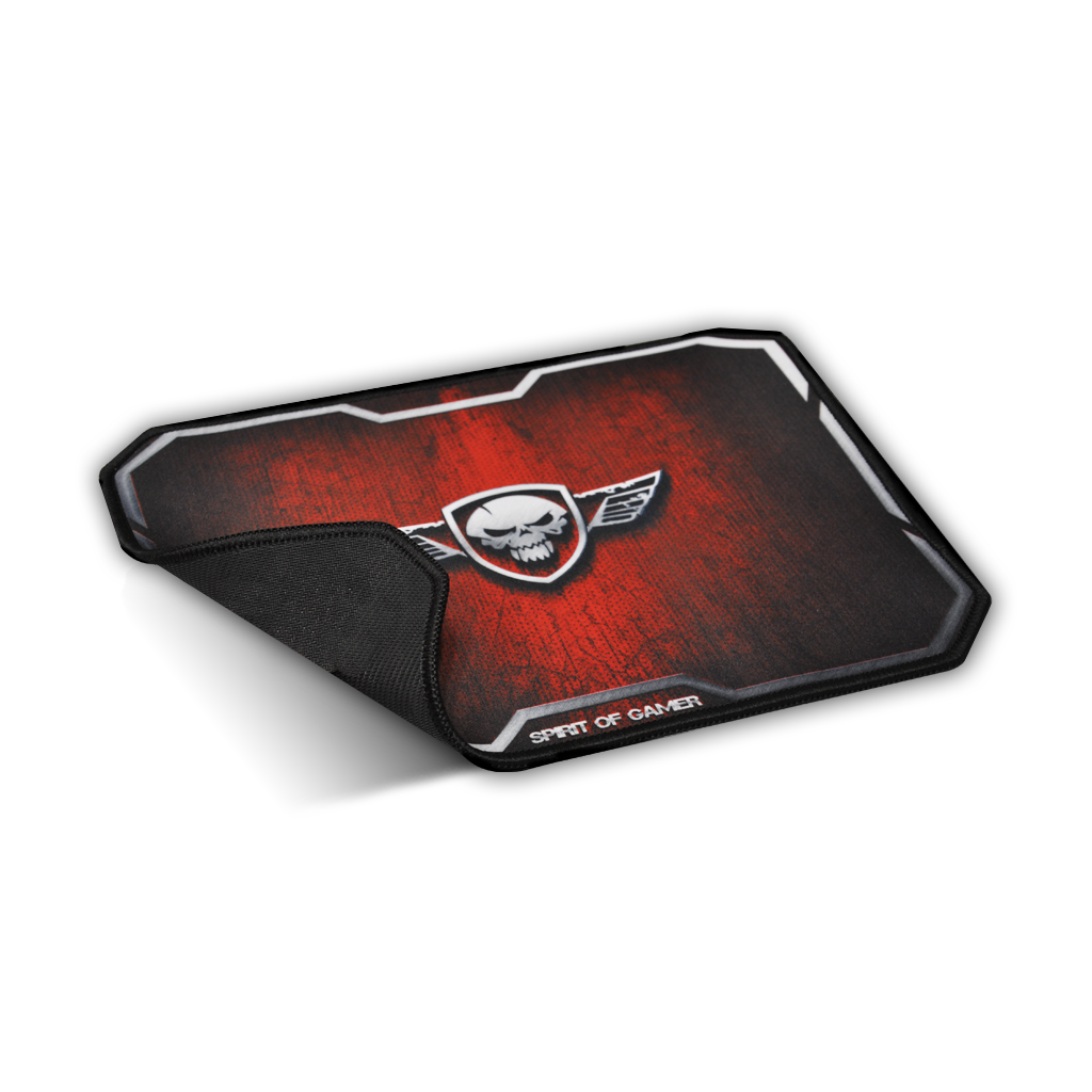 Spirit Of Gamer Tapete Gaming Winged Skull M Vermelho