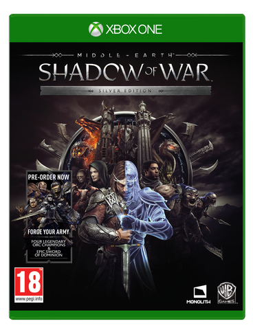 XBOX ONE MIDDLE EARTH: SHADOW OF WAR SILVER EDITION