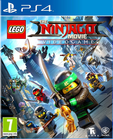 PS4 The Lego Ninjago Movie VG