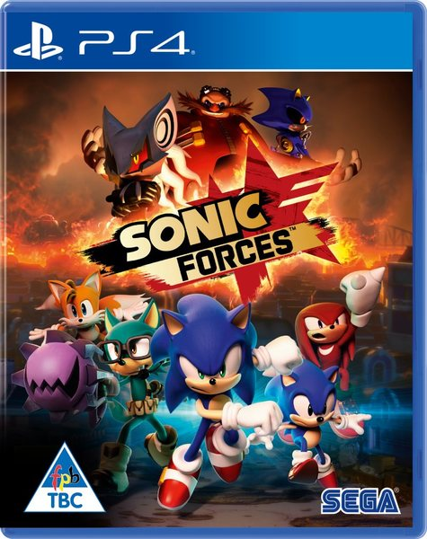 PS4 SONIC FORCES Image