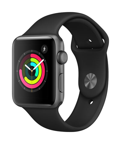 Apple Watch 42mm Series 3 Sport Preto - Smartwatch