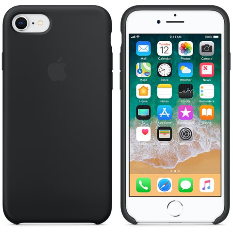 Apple Capa Silicone Case iPhone 7/8 Preto