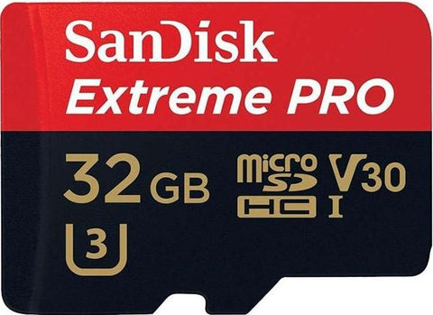 Cartão Micro SDHC SanDisk Extreme Pro 32GB Classe 10 100 MB/s