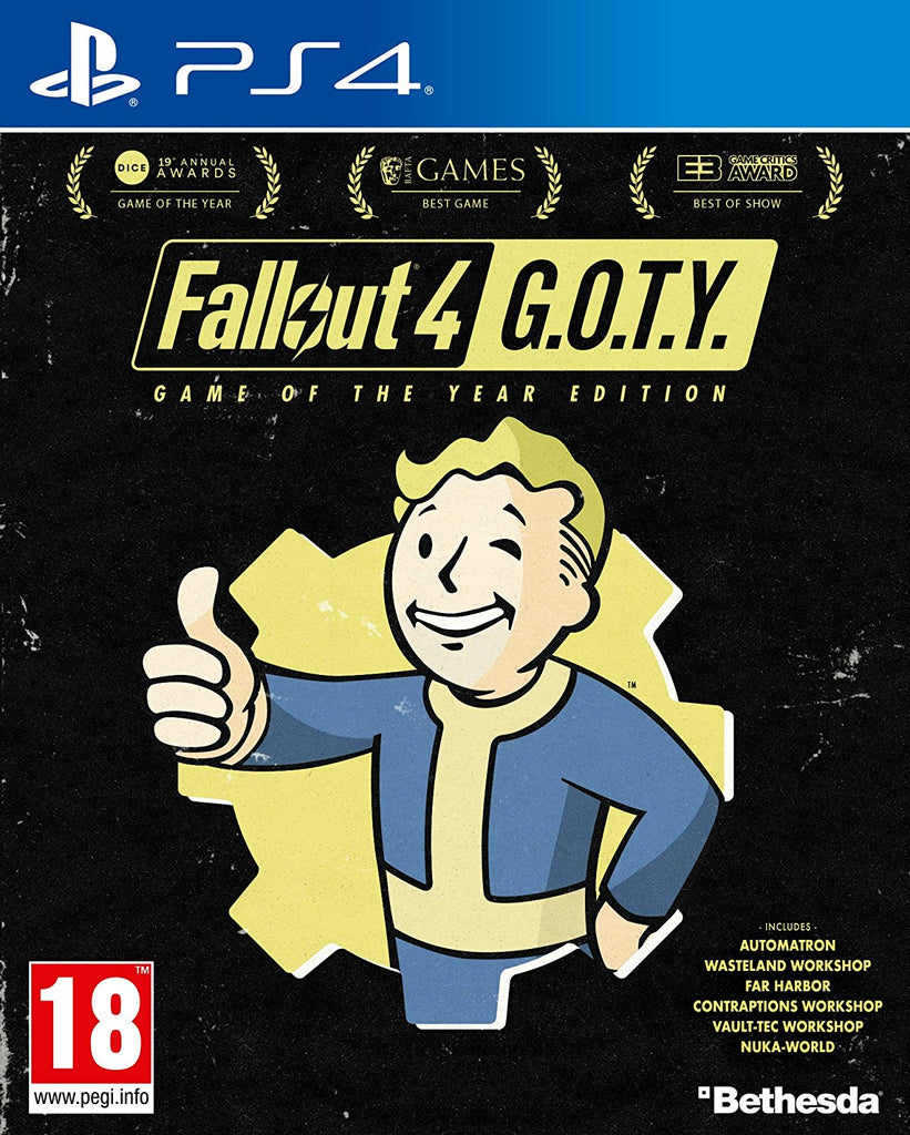 PS4 FALLOUT 4 GOTY Image