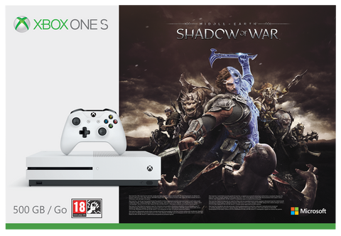 CONSOLA XBOX ONE S 500GB + SHADOW OF WAR