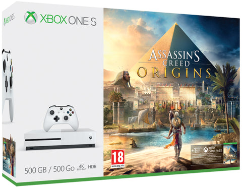 CONSOLA XBOX ONE S 500GB + ASSASSINS CREED