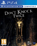 PS4 VR DON'T KNOCK TWICE VR COMPATIBLE Image