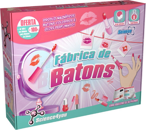Science4You Fábrica De Batons