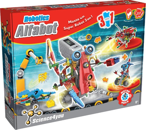 Science4you ROBOTICS - ALFABOT 3 EM 1