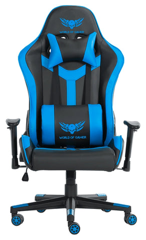 World Of Gamer Cadeira Gaming Spider D344 Azul