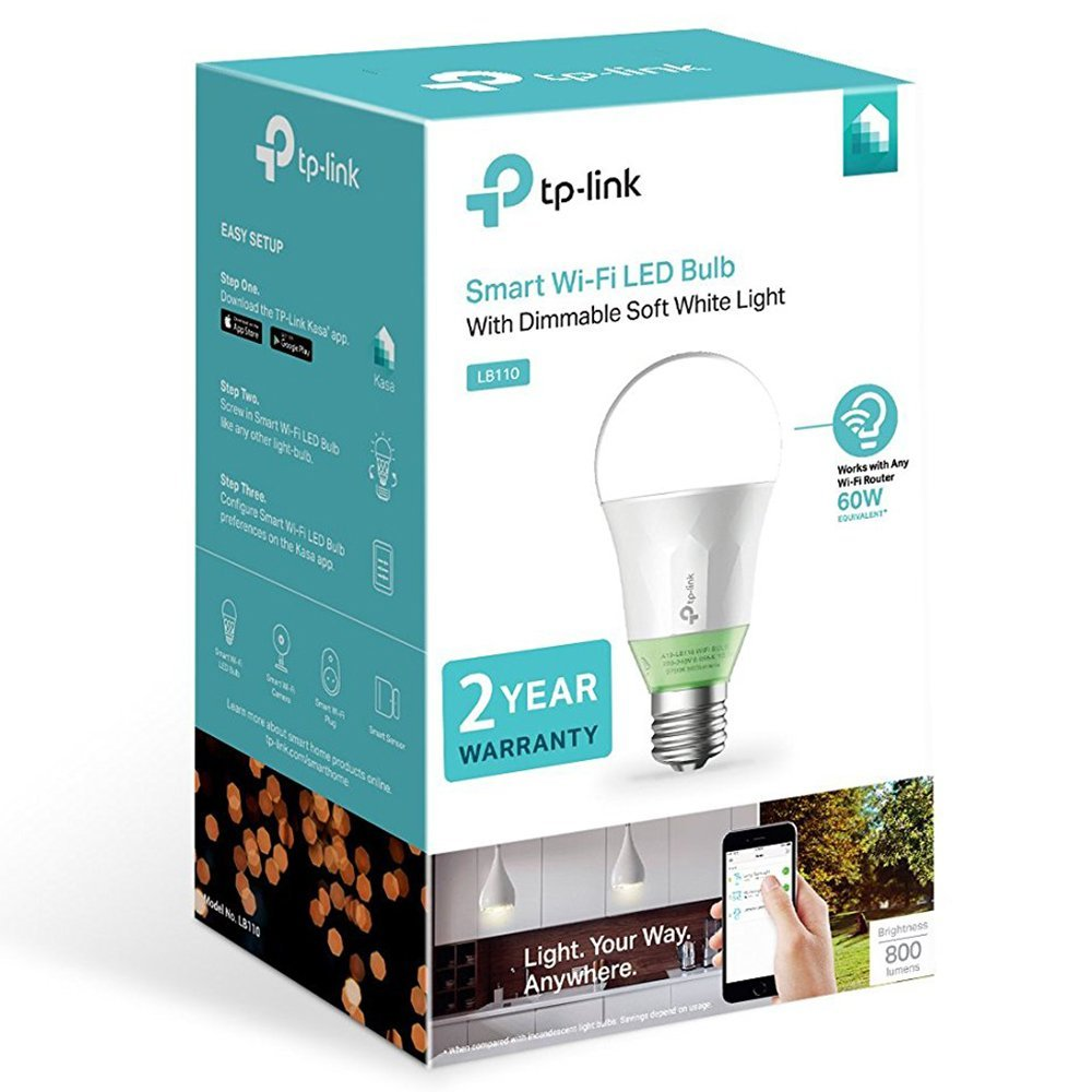 Lâmpada Smart TP-Link LED Wi-Fi LB110
