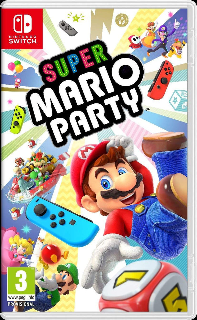 Jogo Switch Super Mario Party