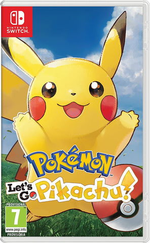Jogo Switch Pokemon Let'S Go Pikachu