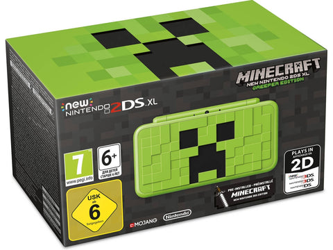 CONSOLA NEW 2DSXL MINECRAFT EDITION