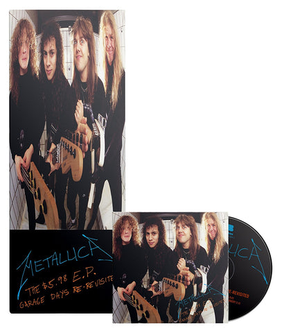 METALLICA-THE $5.98 EP GARAGE DAYS RE-REVISITED-LONGBOX EDIÇÃO LIMITADA CD