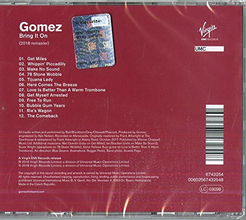 Gomez - Bring It On-Remastered