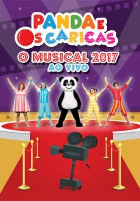 PANDA O MUSICAL 2017 AO VIVO DVD