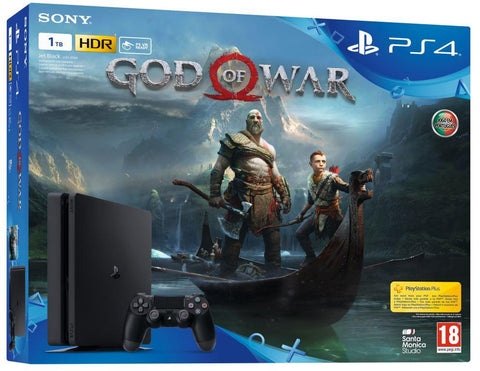 CONSOLA PS4 SLIM 1TB + GOD OF WAR
