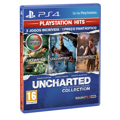 Jogo PS4 Hits Uncharted Collection