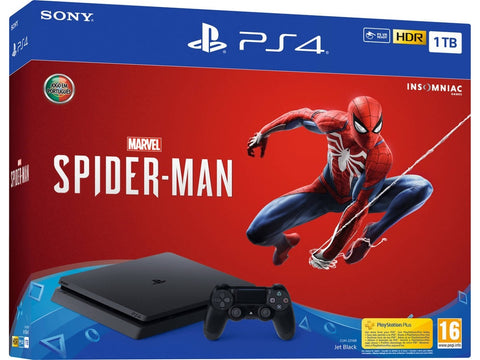 CONSOLA PS4 SLIM 1TB + SPIDER-MAN