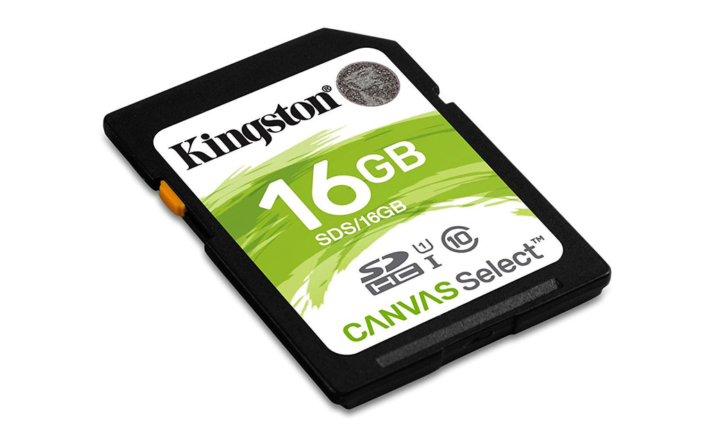 Cartão SD Kingston 16GB SDHC SDS