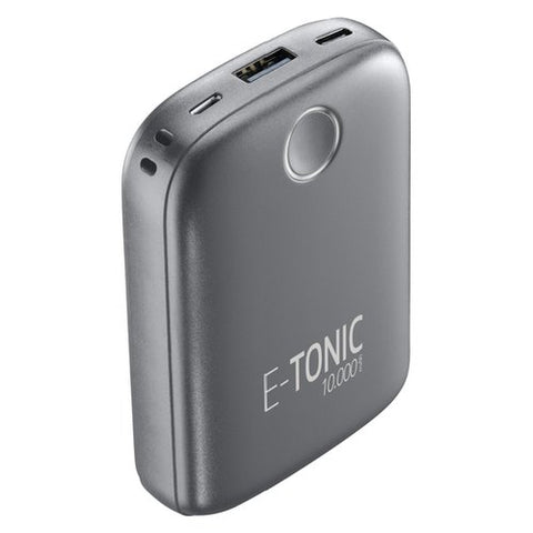 Powerbank Cellularline E-Tonic 10000MAH Preto