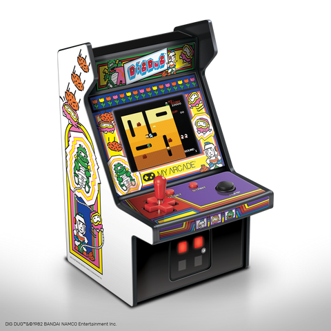CONSOLA RETRO MICRO PLAYER -COLECIONAVEL- DIG DUG