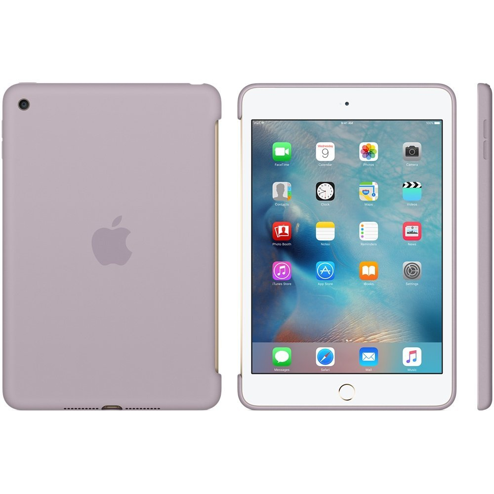 Apple Capa para iPad Mini 4 Silicone Case - Cinzento