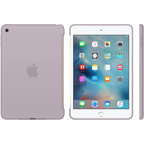 Capa Apple iPad para iPad Mini 4 Silicone Case - Cinzento
