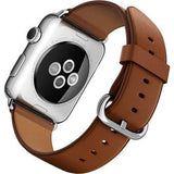 Apple Watch 38mm Series 1 Pele Castanho - Smartwatch