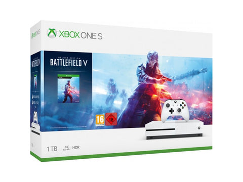 Consola Xbox One S 1TB + Battlefield V