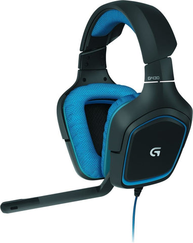 Logitech Auscultadores Gaming G430 Surround Sound