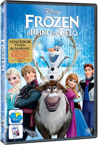 DVD Frozen - O Reino Do Gelo