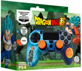Blade PS4 Protector de Comando Rígido + Grips Dragon Ball Super Combo Pack