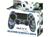 Blade PS4 Silicone Sleeve + Grips Camo Navy