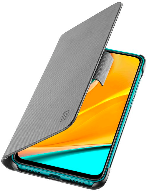 Capa Cellularline Xiaomi Redmi 9 Book Preto