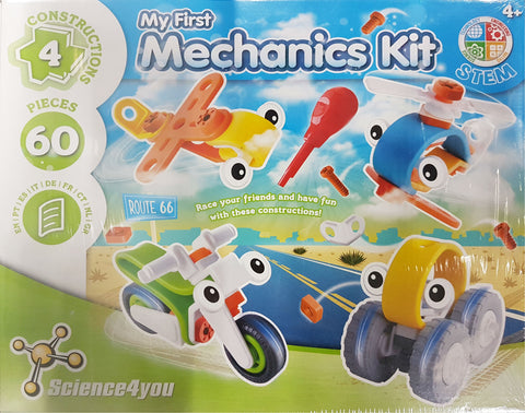 Jogo Didáctico Science4you 1º Kit Mecanica