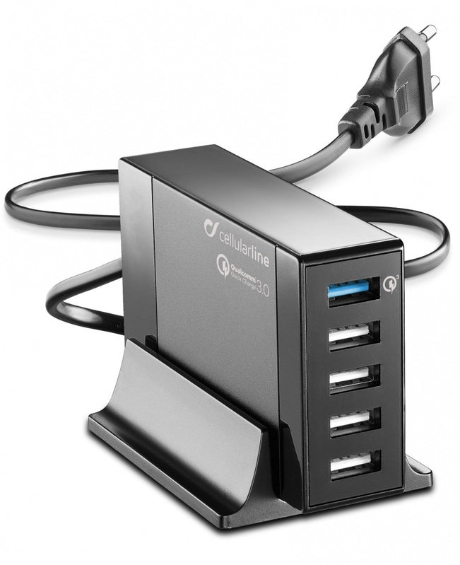 Carregador Cellularline Micro USB Preto