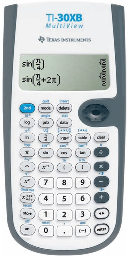 Calculadora Científica Texas Instruments TI-30XB MultiView