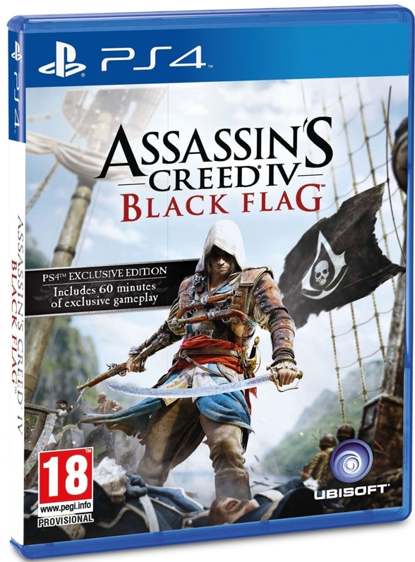 Jogo PS4 Assassins Creed IV Black Flag